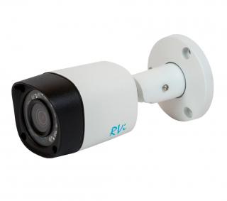 Установка камеры видеонаблюдения CVI RVi-HDC411-C (3.6 мм)