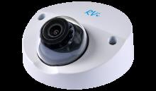 Установка камеры видеонаблюдения RVI-IPC34M (2.8 мм)