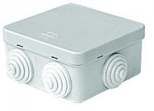Коробка распределительная 70x70x40 мм цвет серый