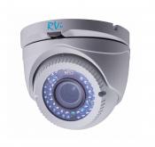 Установка камеры видеонаблюдения TVI RVi-HDC321VB-T(2,8-12 мм)