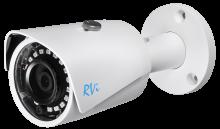 Установка камеры видеонаблюдения RVI-IPC41S V.2 (2.8 мм)