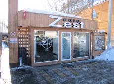 Установка камер видеонаблюдения в кафе Zest
