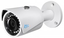 Установка камеры видеонаблюдения RVI-IPC41S V.2 (4 мм)