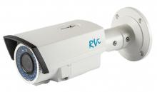 Установка камеры видеонаблюдения RVi-IPC42L (2.8-12 мм)